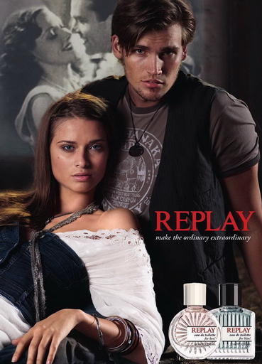 Replay her him