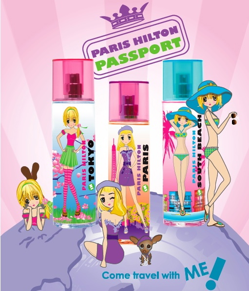 Paris Hilton Passport - plakat