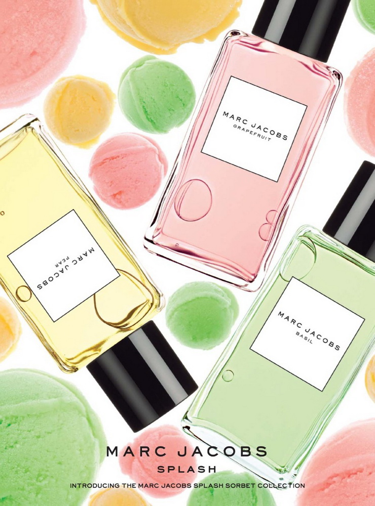 Marc Jacobs Splash Sorbet plakat