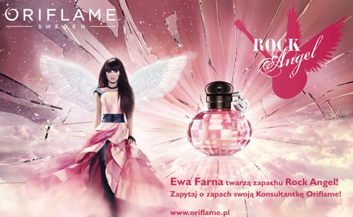 Oriflame Rock Angel plakat