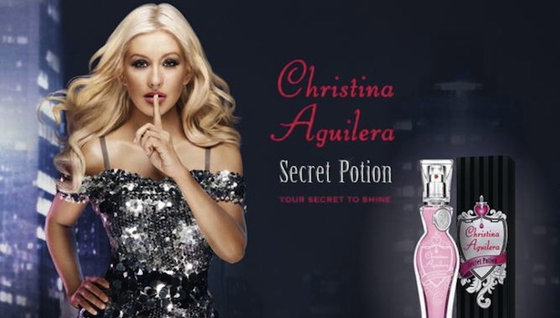 Christina Aguilera Secret Potion, czyli skąd ten błysk?