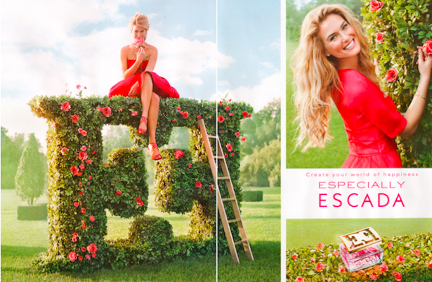 Escada Especially plakat