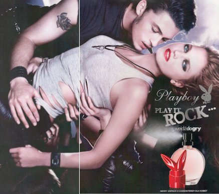 Playboy Play It Rock reklama perfume