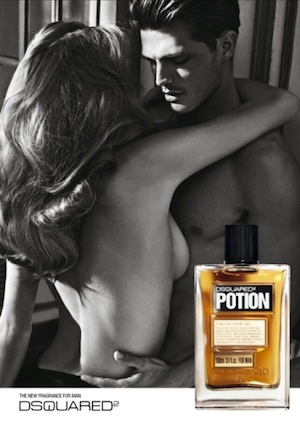 Reklama Perfum Dsquared2 Potion