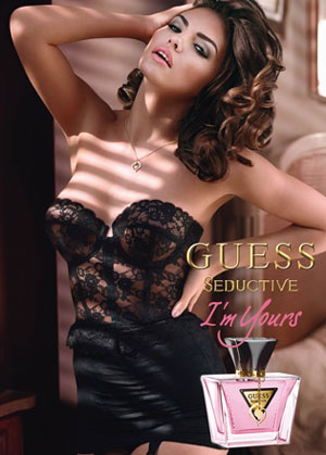Perfumy Guess Seductive I'm Yours plakat reklamowy