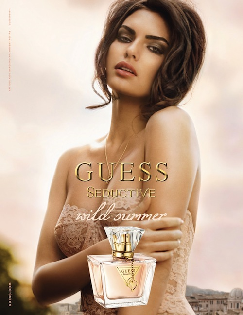 Perfumy Guess Seductive Wild Summer plakat reklamowy Alyssa Miller Vincent Peters