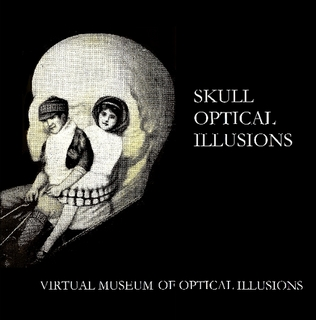 Virtual Museum of optical illusion - skull optical illusions