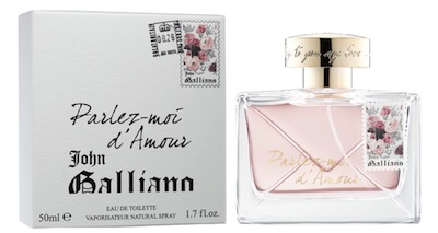 Perfumy Galliano Parlez moim d'amour