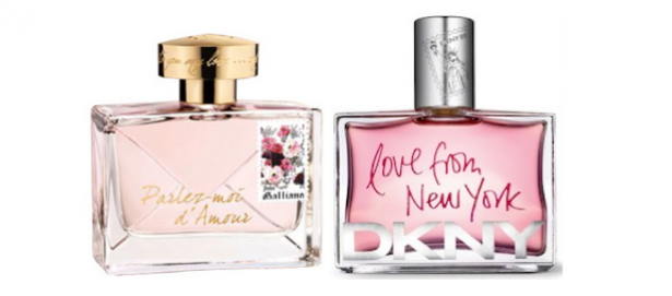 John Galliano Parlez - moi d' Amour vs. DKNY Love from New York