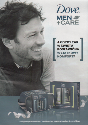 Reklama Dove Men Care