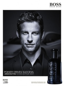 Reklama perfum Hugo Boss Bottled Night Jenson Button