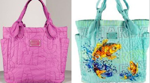 Torba Ed Hardy plagiat torby Marc Jacobs