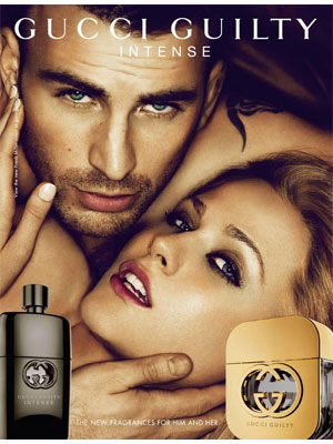 Reklamy perfum w prasie Gucci Guilty Intense