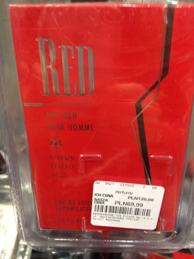 Perfumy Giorgio Beverly Hills Red For Men TK Maxx