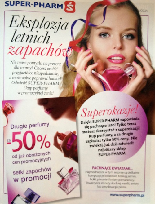Reklama Super Pharm Perfumy Hot Moda Shopping