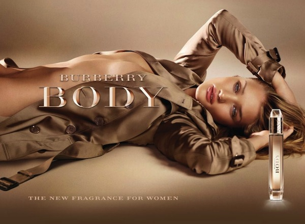 Reklama perfum Burberry Body Rosie Huntington Whiteley