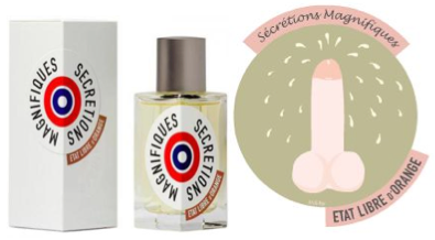 Etat Libre Dorange Secretions Magnifique Dziwne perfumy o zapachu spermy Horn and More