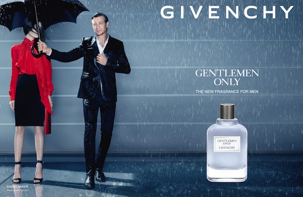 Reklama perfum Givenchy Gentlemen Only