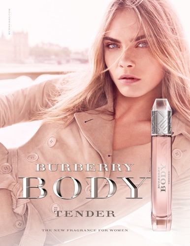 Reklama perfum Burberry Body Tender