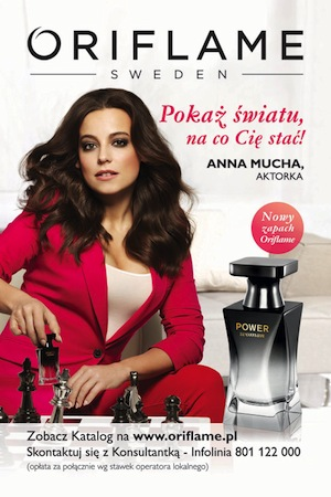 Reklama perfum Oriflame Power Woman