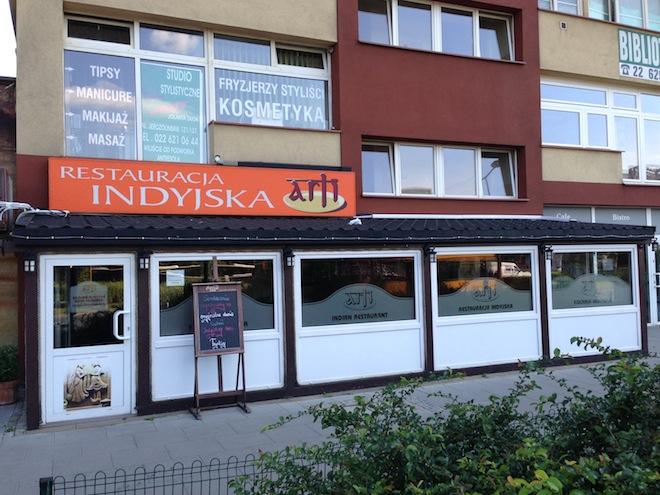 Indyjska Restauracja Arti W Warszawie Olfaktoria Pl