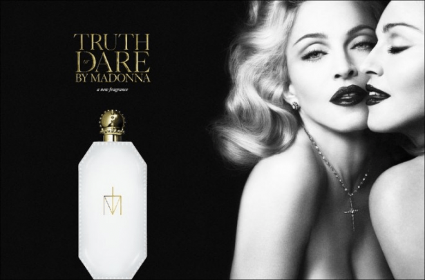 Reklama perfum Madonna Truth or Dare