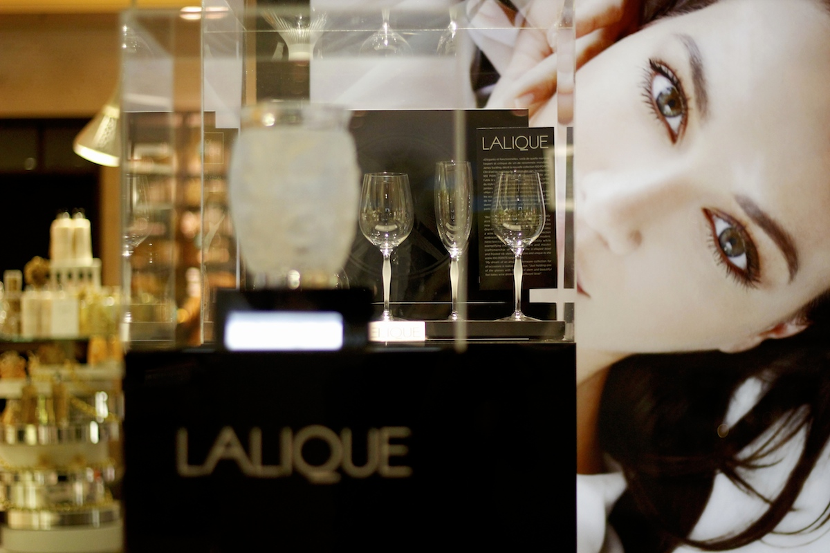 Lalique Pop Up Store, Arkadia