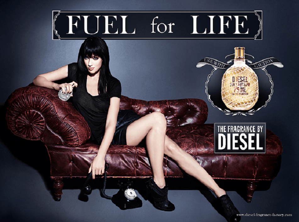 Reklama perfum Diesel Fuel for life