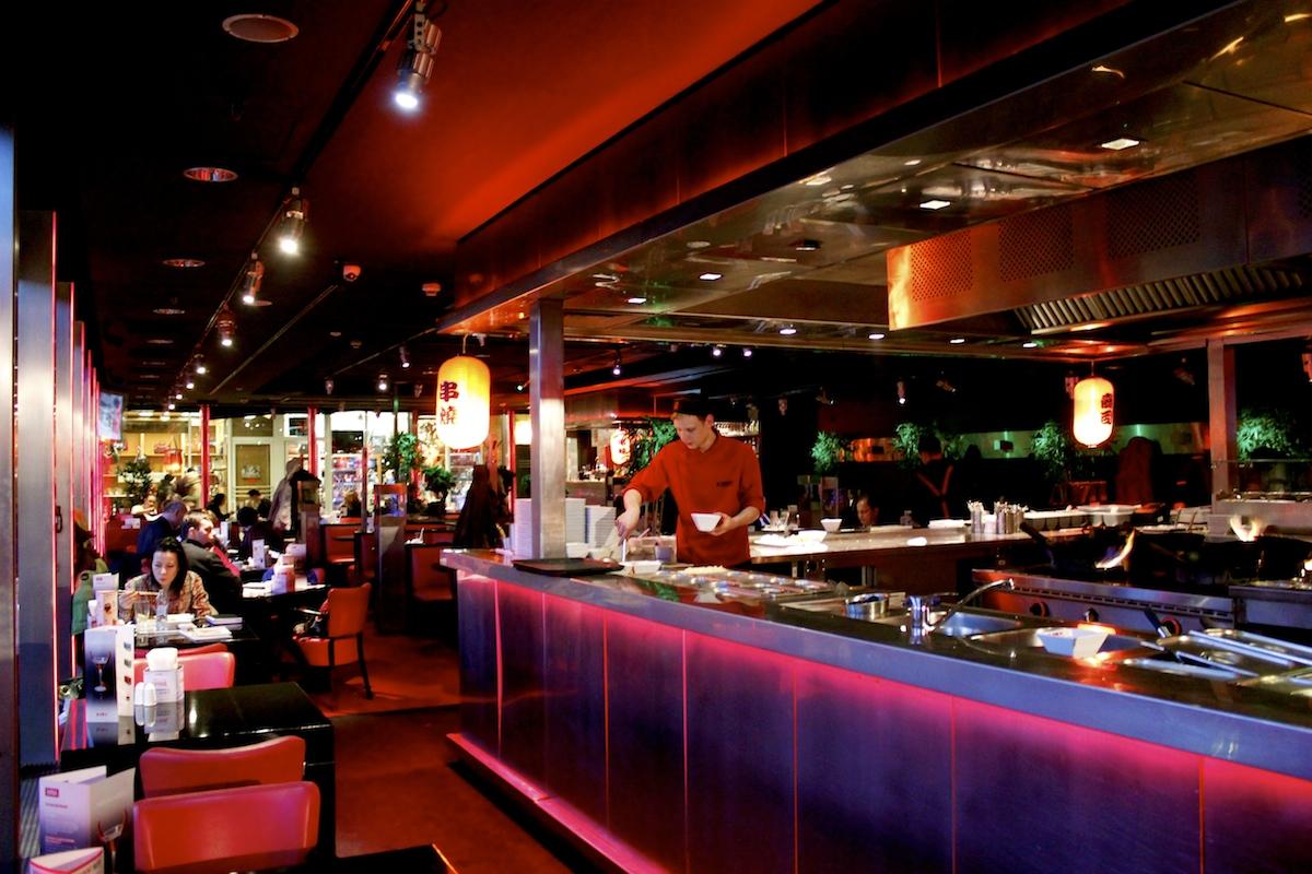 Restauracja Wook w Warszawie  ciekawe wnętrze, niedobra kuchnia  Olfaktoria pl -> Restauracja Kuchnia Angielska Warszawa