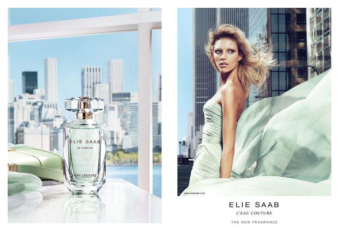 Reklama perfum Elie Saab L'Eau Couture
