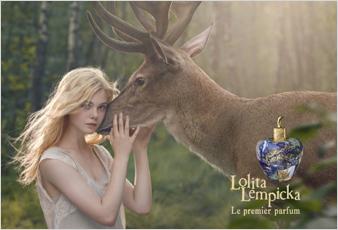 Reklama perfum Lolita Lempicka Lolita Lempicka Le Premier Parfum