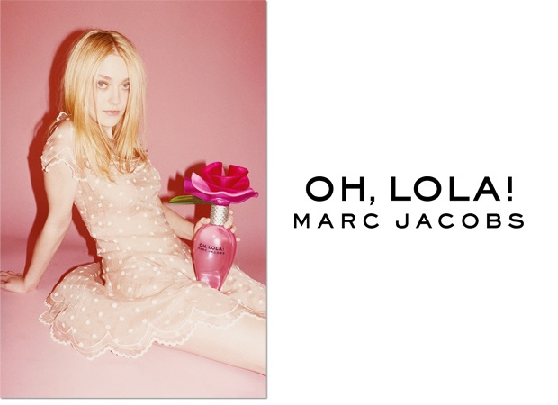 Reklama perfum Marc Jacobs Oh Lola!