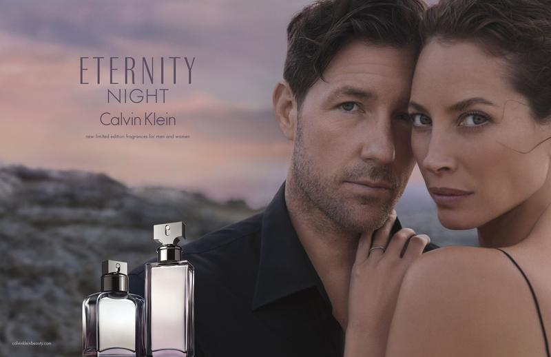 Reklama perfum Eternity Night Calvin Klein