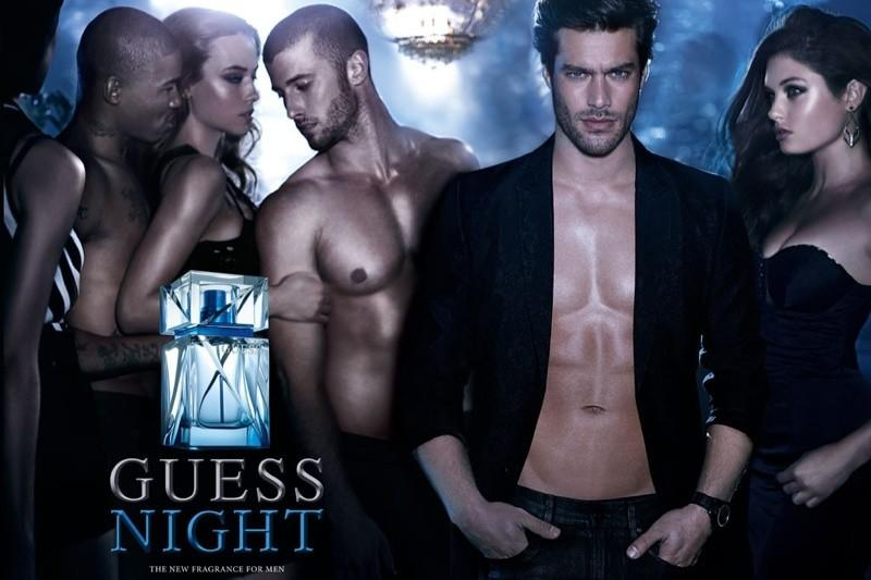 Reklama perfum Guess Night