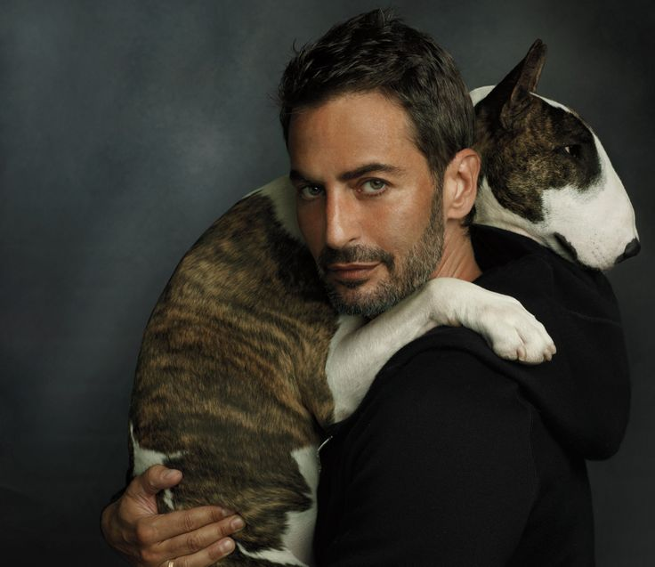 Marc Jacobs i jego pies Neville