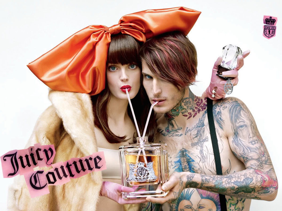 Reklama perfum Juicy Couture