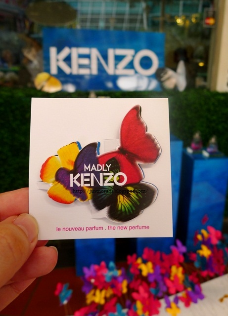 Blotter Kenzo Madly
