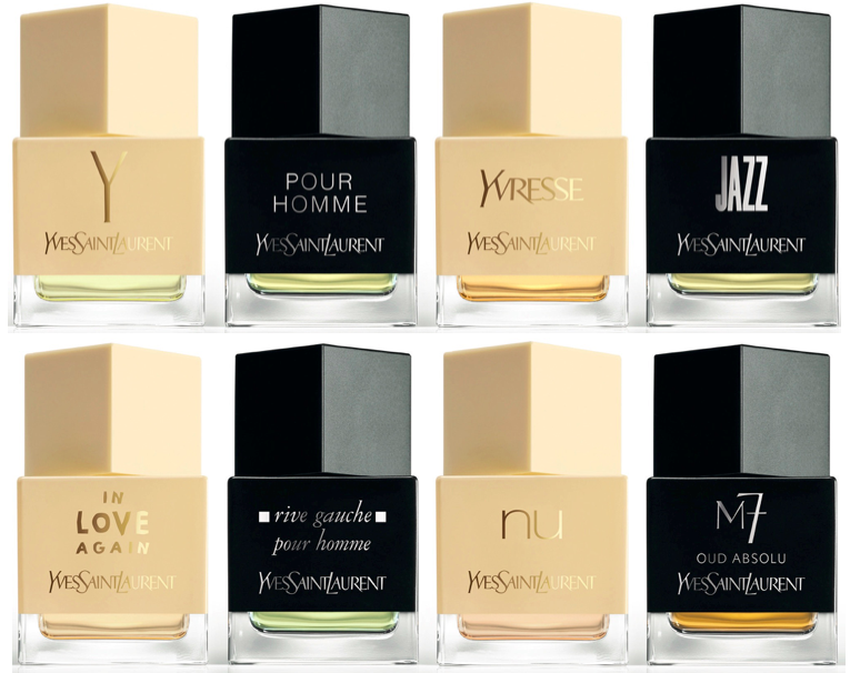 Butikowa kolekcja perfum La Collection YSL