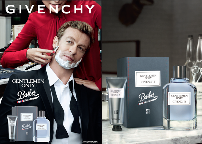 Perfumy dla brodaczy - Givenchy Only Gentlemen Barber Edition