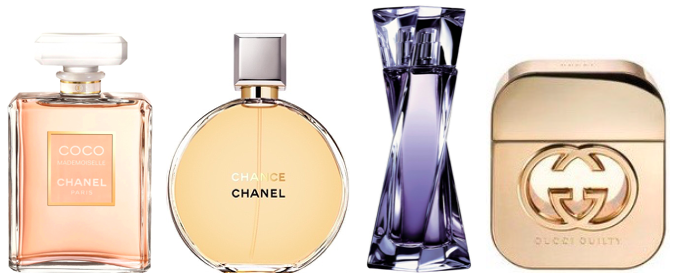 Ulubione perfumy Anny Wendzikowskiej: Chanel Coco Mademoiselle, Chanel Chance, Lancôme Hypnôse, Gucci Guilty