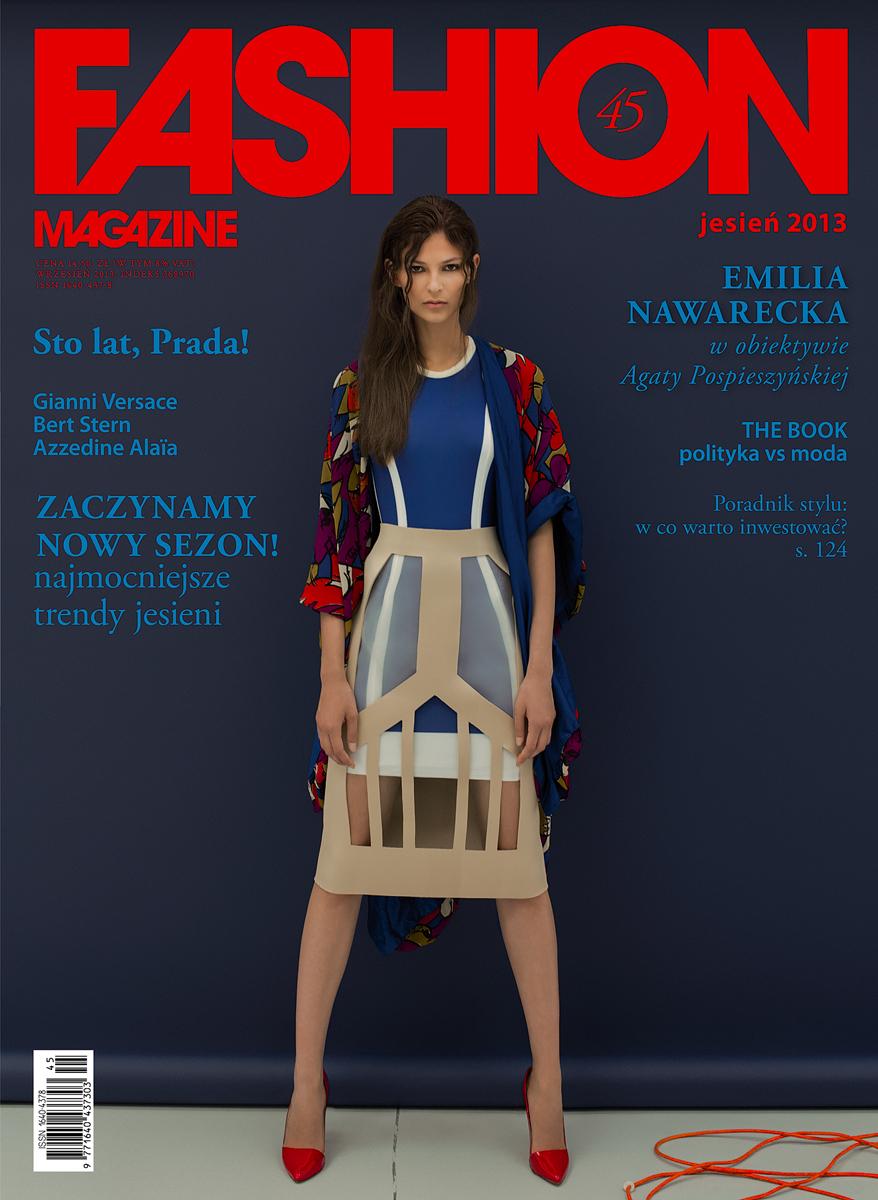 Emilia Nawarecka on the cover of FASHION Magazine, Autumn 2013 :: News :: Emilia Nawarecka.