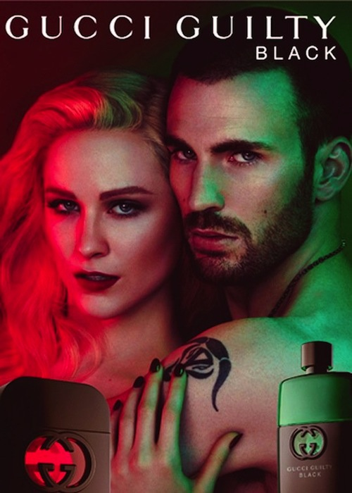 Reklama perfum Gucci Guilty Black